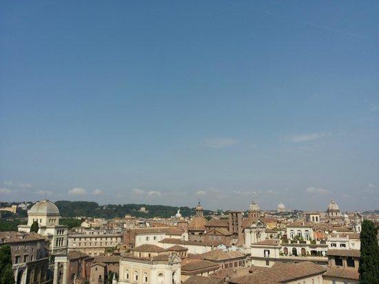 Kapitolinische Museen: Vista dalla terrazza panoramica