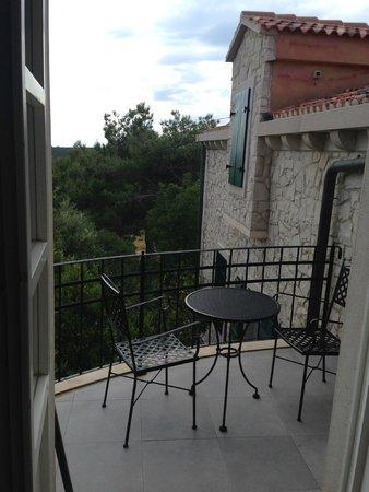 Hotel Boskinac: Sacada do apartamento