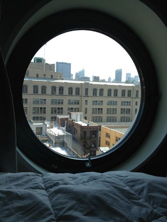 Dream Downtown: Great view of midtown from the room.