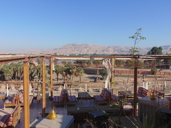 Nefertiti Hotel: Rooftop view