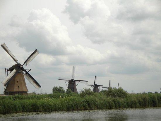 Mühlenanlagen in Kinderdijk-Elshout: Windmills
