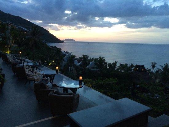 InterContinental Danang Sun Peninsula Resort : Outdoor at La Maison 1888