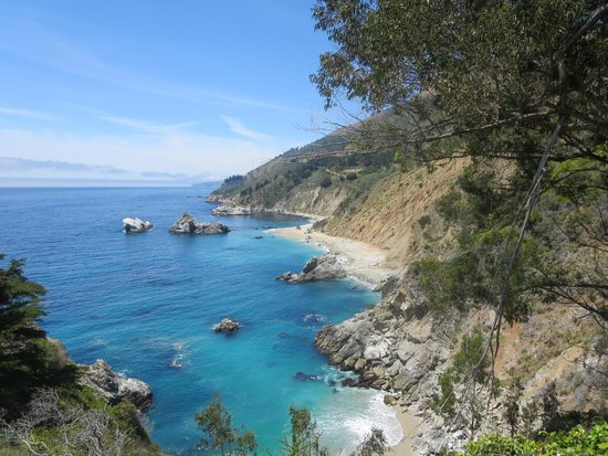 McWay Falls: looking to the north