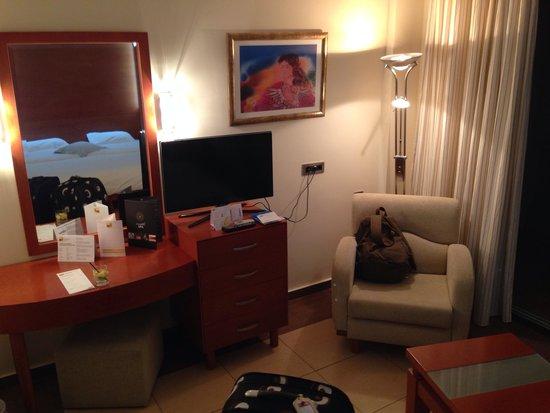 TUI MAGIC LIFE Marmari Palace by Atlantica: Our room.