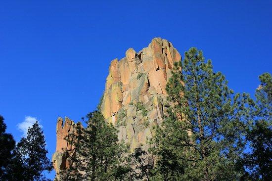 Jemez Mountains: Battleship Rock photo #1