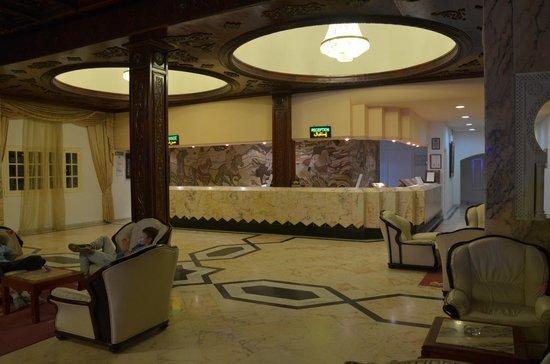 Le Marabout Hotel : Impressive reception (rooms aren't so impressive...)