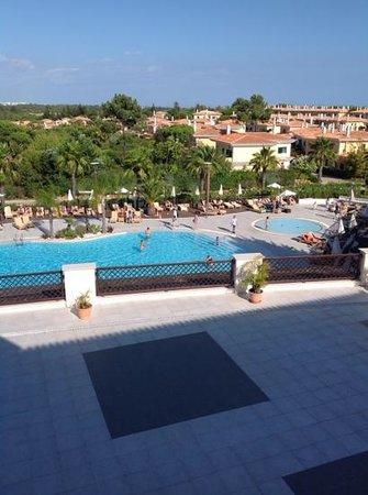Monte da Quinta Resort: view from room terrace