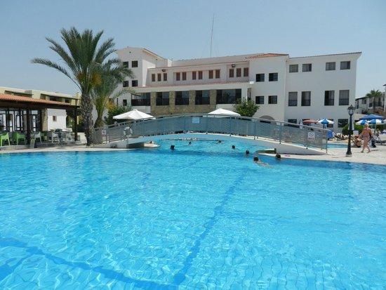 Kefalos Beach Tourist Village: Looking back at hotel