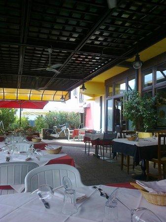 Cantina Battisti: Veranda esterna