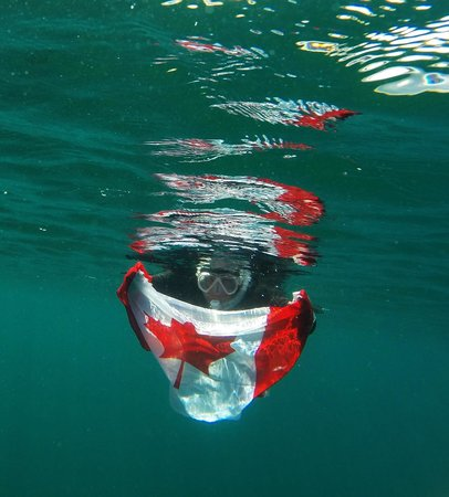 Sherry Thompson Snorkelling with Divers Den July 2014