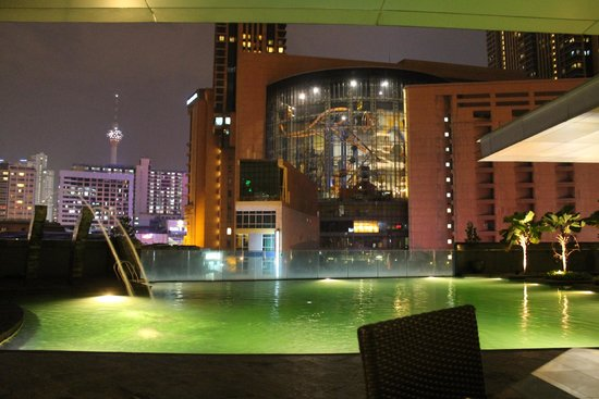 Furama Bukit Bintang: view from the pool area