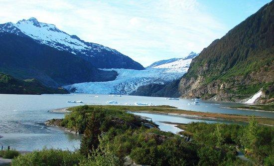 门登豪尔冰川
