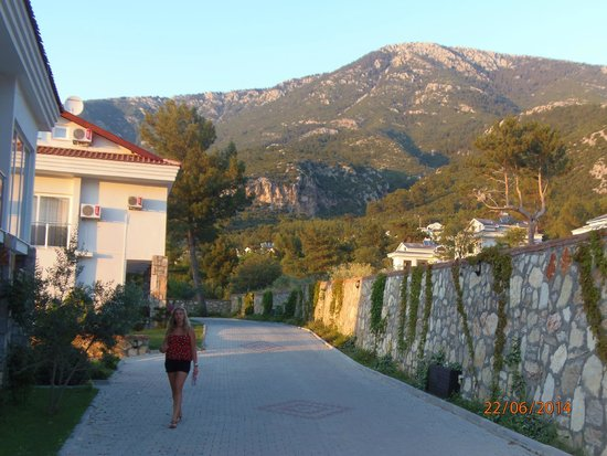 Orka Club Hotel & Villas : view from our front door