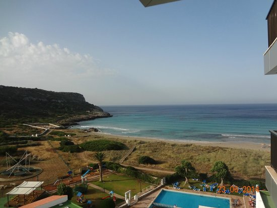 Sol Milanos Pinguinos: vista dal balcone