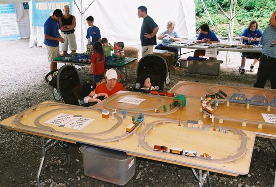 Delaware River Railroad Excursions: Lots of toy trains, face painting, temporary tattoos and more...