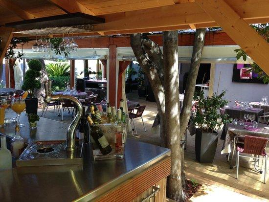 Lu0027 Effet Jardin Restaurant : La Loggia De Lu0027effet Jardin
