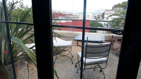 La Maison de Tanger: View of harbor from our room