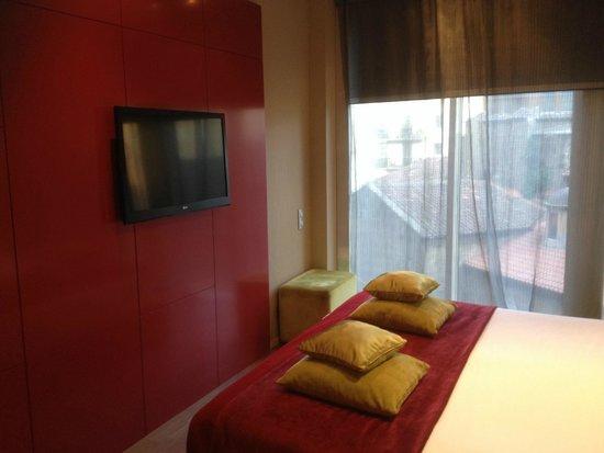 Hotel Olivia Plaza: Imaginative colour scheme