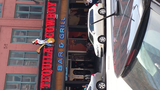 Downtown Nashville: one of the bars