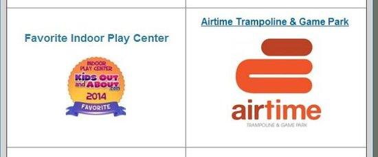 AirTime Trampoline & Game Park: Voted #1 Winner of Favorite Indoor Park