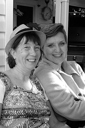 Glacier Park Bed and Breakfast: Denise and Deb
