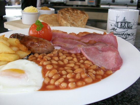 The Guardhouse Cafe: The famous Guardian Breakfast