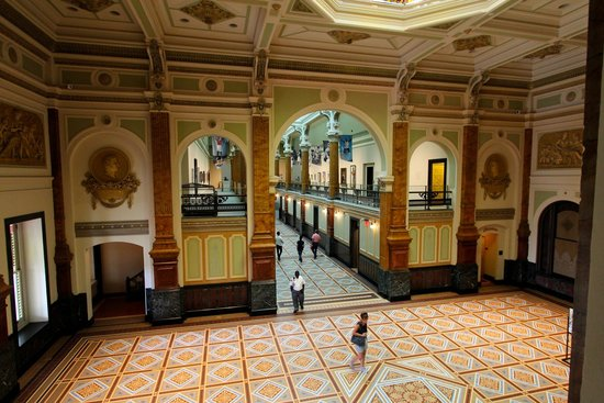 Smithsonian American Art Museum: View From the Second Floor
