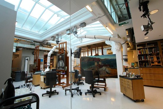 Smithsonian American Art Museum: The Painting Restoration Lab