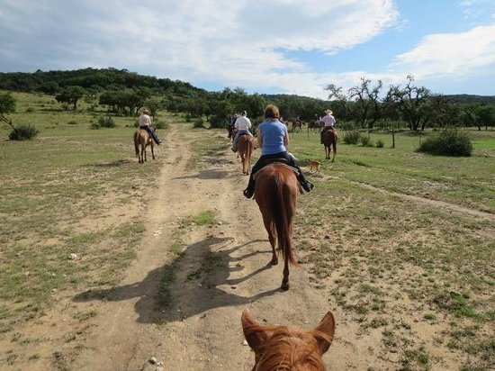 Dixie Dude Ranch : More trail rides