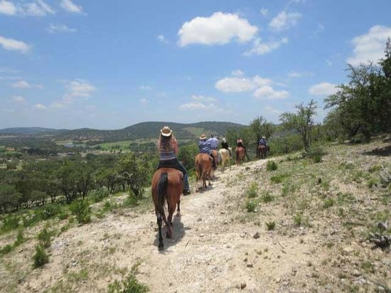 Dixie Dude Ranch : Out on the trail