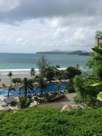 Hyatt Regency Phuket Resort: View from our building