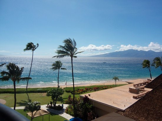Royal Lahaina Resort: View from our room