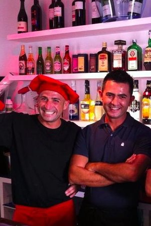 Antico Caffe: The best Chef and Waiter in Tenerife!