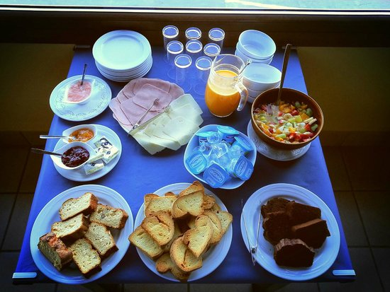 Casa Rural Pikua : Desayuno