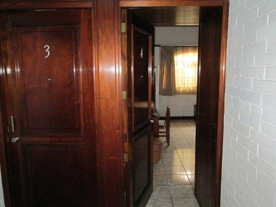 Dai Nonni Hotel: Entrada a la habitación