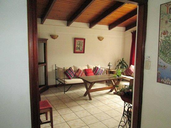 Dai Nonni Hotel: Este es un Living Room