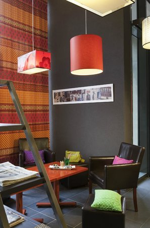 Ibis Styles Lyon Centre - Gare Part Dieu: Lobby