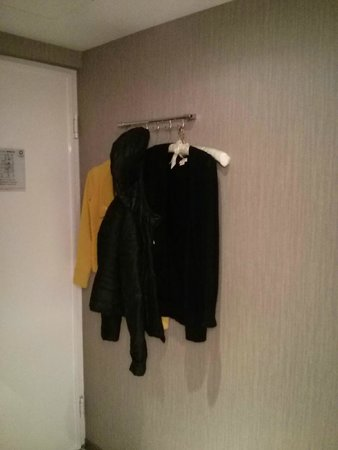 Wall hanger to hang clothes - Picture of Dandy Hotel - Tianmu Branch ...