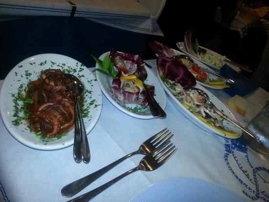 Azzurra ristorante pizzeria: Degustazione di mare