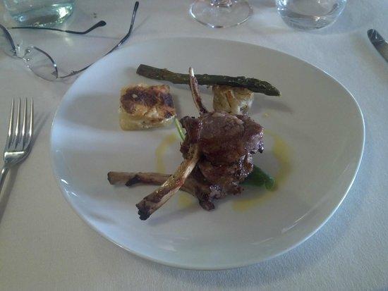 L'Osteria del Vignaiolo : lamb chop