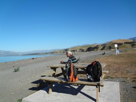 Kaikoura Peninsula Walkway: Relaxing at South Bay