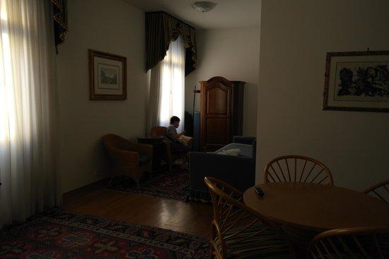 San Marco Palace Suites: Вид на общую зону
