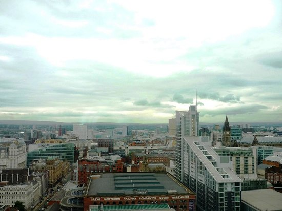 Hilton Manchester Deansgate: View from room