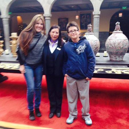 Palacio del Inka, A Luxury Collection Hotel, Cusco: With hotel guest relations manager