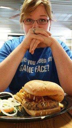 Sheba's Family Restaurant: What a burger...