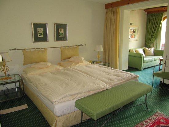 Hotel Eden Wellness: unser Zimmer