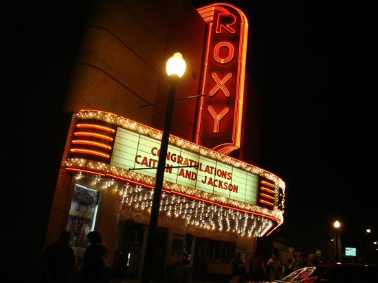 Beautiful Roxy Theatre: Name In Lights Great Ideas
