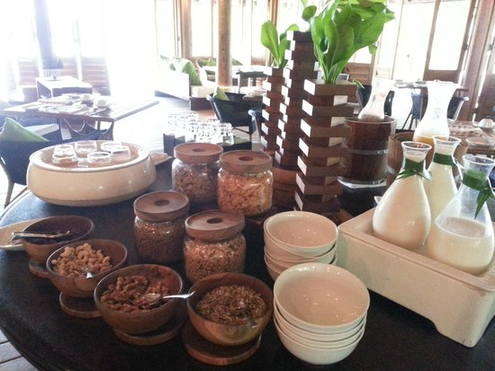 Cocoa Island by COMO: Breakfast, select your favorite