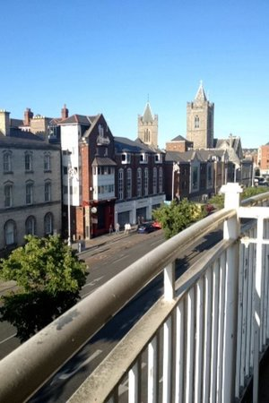 Staycity Serviced Apartments Christchurch: View from balcony!