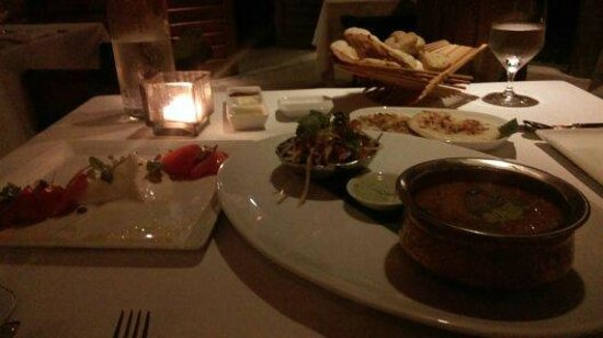 COMO Cocoa Island: Wonderful dinner